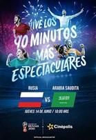 WC2018 Inauguración Rusia vs Arabia Saudita