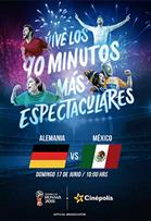 WC2018 Alemania vs México