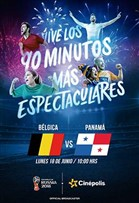 WC2018 Bélgica vs Panamá