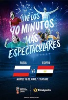 WC2018 Rusia vs Egipto