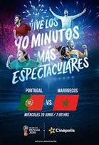 WC2018 Portugal vs Marruecos