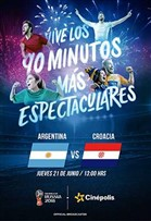 WC2018 Argentina vs Croacia