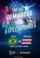 WC2018 Brasil vs Costa Rica