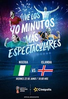 WC2018 Nigeria vs Islandia