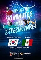 WC2018 República de Corea vs México