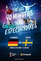 WC2018 Alemania vs Suecia
