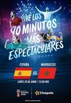 WC2018 España vs Marruecos