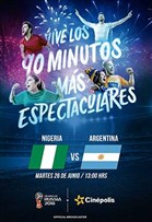 WC2018 Nigeria vs Argentina