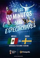 WC2018 México vs Suecia | Contenidos alternativos