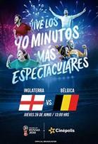 WC2018 Inglaterra vs Bélgica