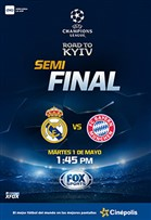 UEFACHL Bayern FC vs Real Madrid