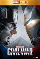 Poster de:2 MARVEL 10: CAP. AMERICA CIVIL WAR