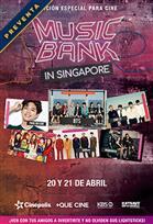 Poster de:2 Music Bank Singapur