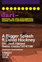 FESTIVAL DART: A BIGGER SPLASH FT DAVID HOCKNEY