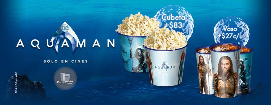 Promocionales Aquaman