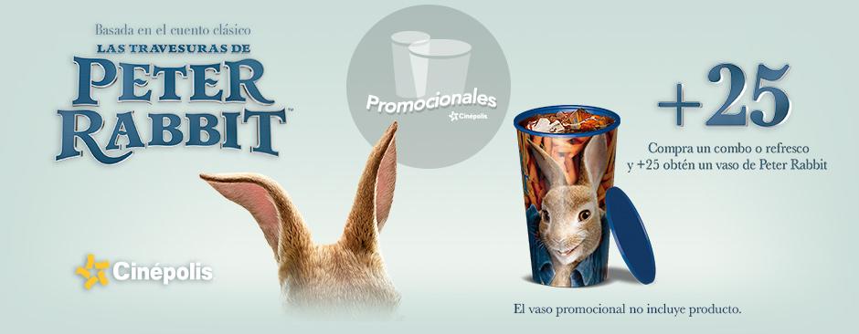 Nuevos Promocionales Peter Rabbit