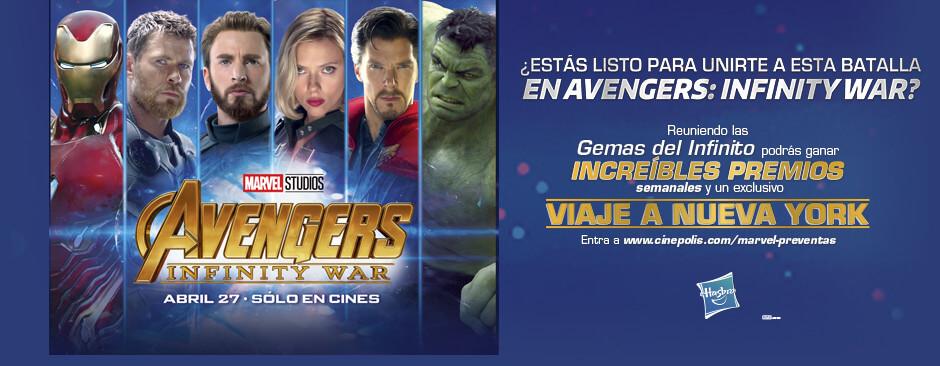 Promoción Avengers Gemas