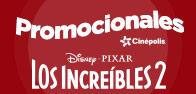 Nuevos Promocionales Los Increíbles 2