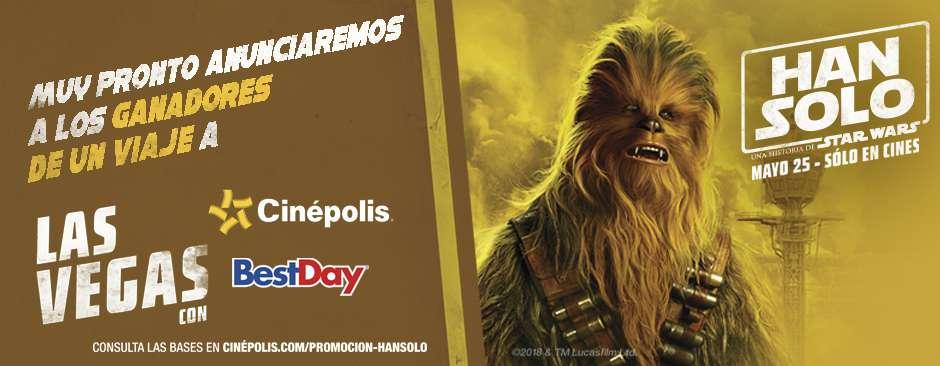 Promoción Han Solo