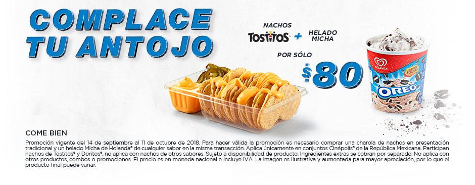 Promoción Nacho + Micha