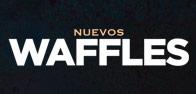 Waffle y Canasta churro
