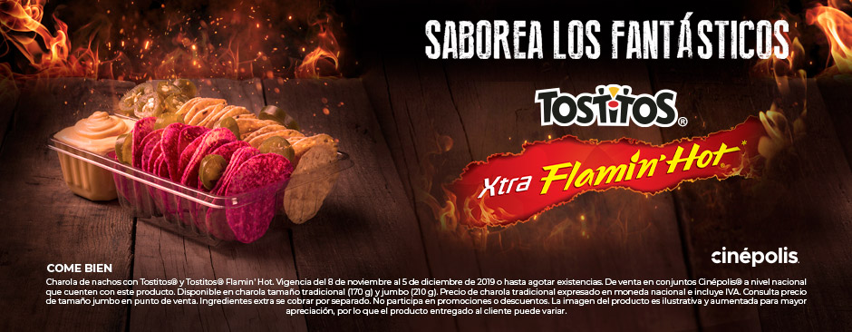 Tostitos Flaming hot