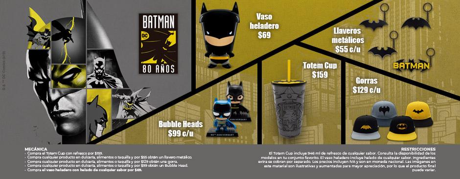 Promocionales Aniversario Batman