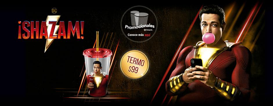 Nuevos Promocionales ¡Shazam!