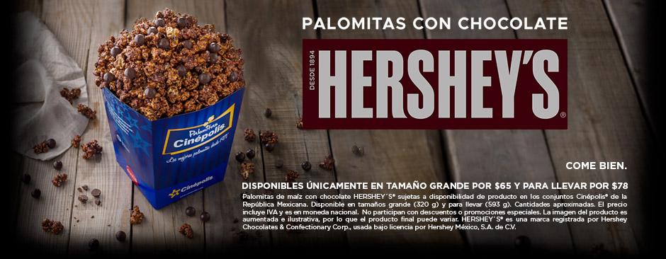 Palomitas Hershey's