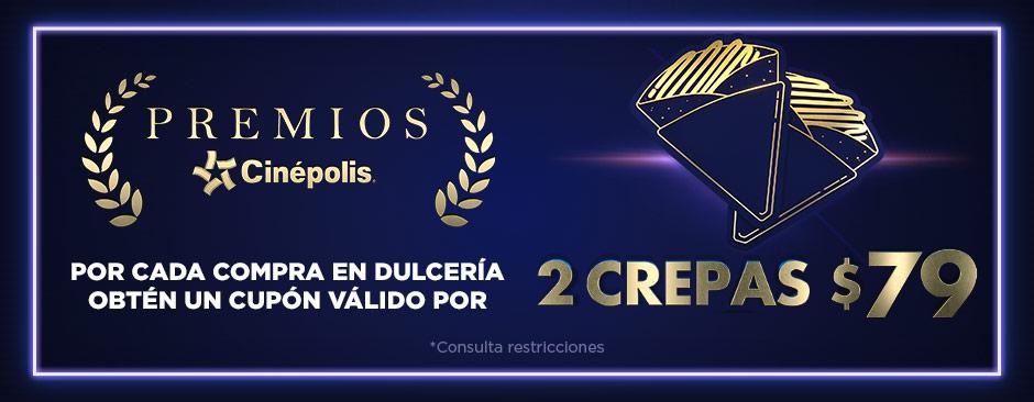 Premios Cinépolis Crepas