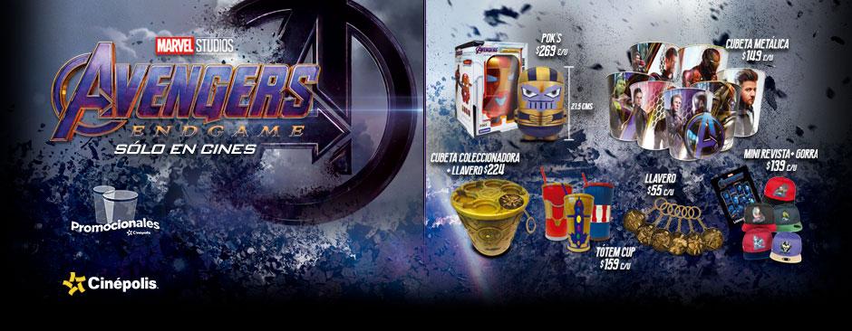 Nuevos Promocionales Avengers: Endgame