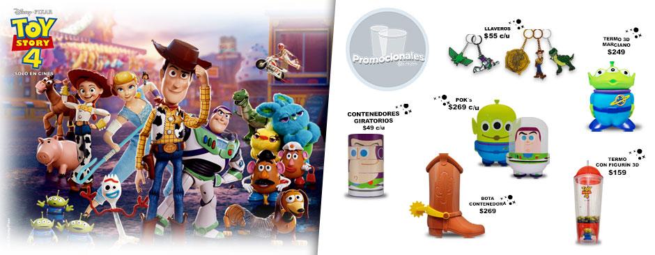 Nuevos Promocionales Toy Story