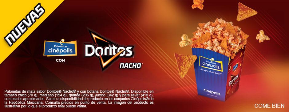 Nuevas Palomitas Doritos