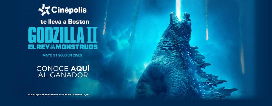 Promoción Godzilla