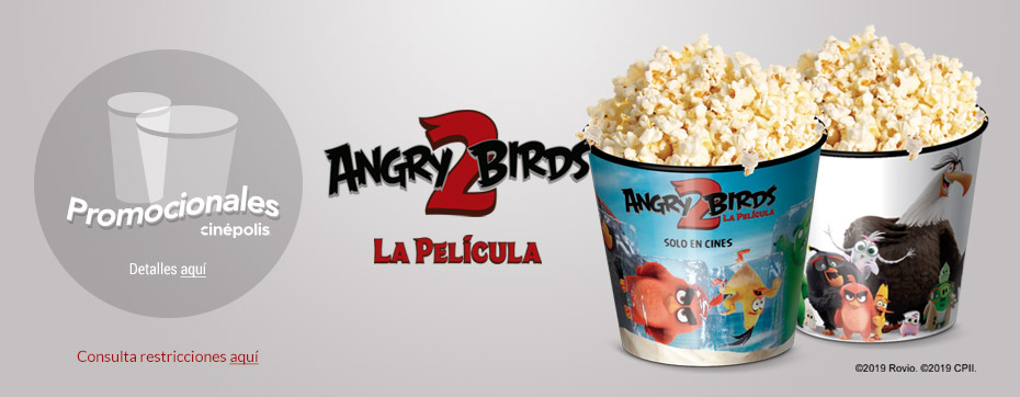 Promocionales Angry Birds 2