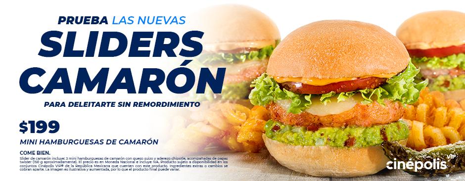 Sliders Camarón VIP