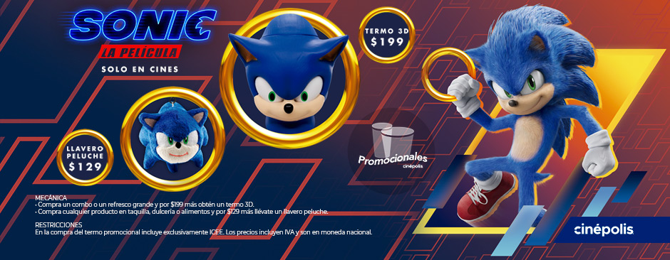 Promocionales Sonic