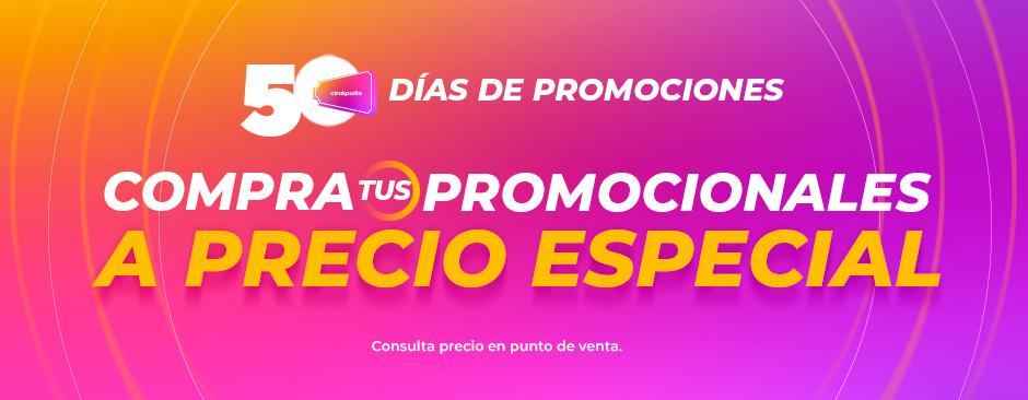 50 días Promociones - Promocionales