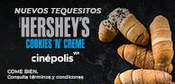 Tequesitos Cookies N Creme VIP