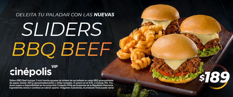 Sliders BBQ Beef