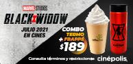 Combo Termo + Frappé Black Widow