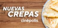 Nuevas Crepas Cinépolis