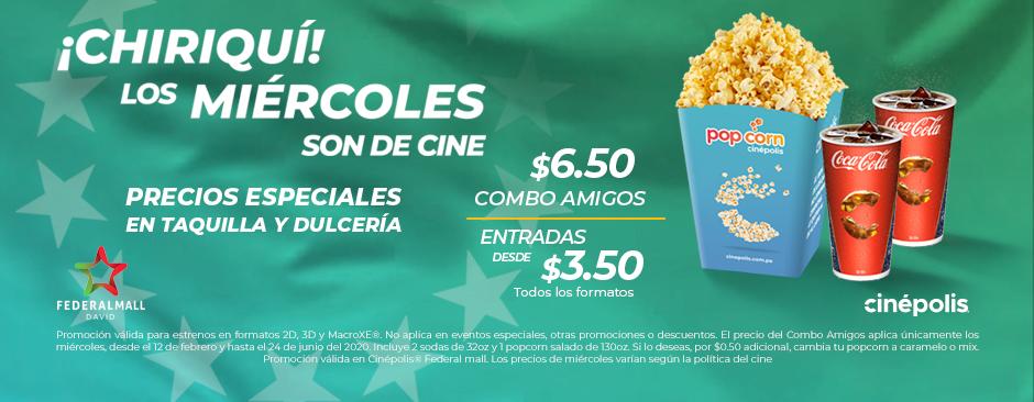 ¡Chiriquí! Lo Miércoles Son De Cine