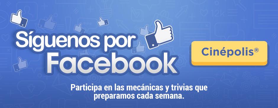 Siguenos por Facebook