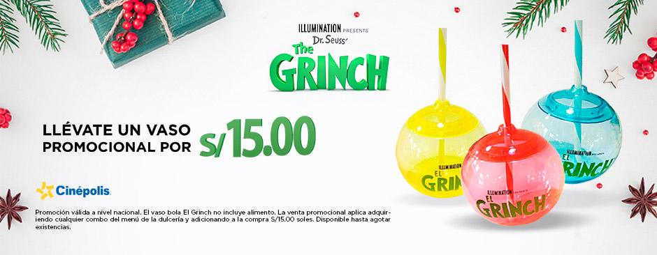 Promoción grinch