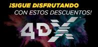 Promocion 4DX