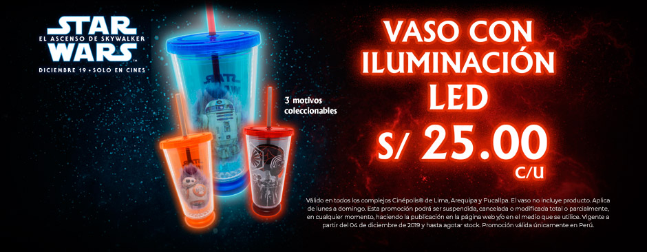 VASO COLECCIONABLE STAR WARS