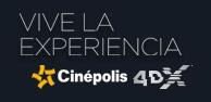 Vive la experiencia 4DX™