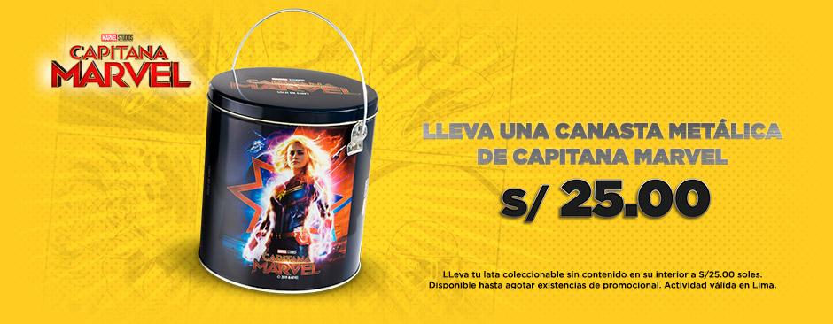 Canasta Capitana Marvel