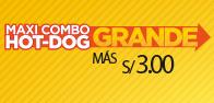 Maxi Combo Hot Dog